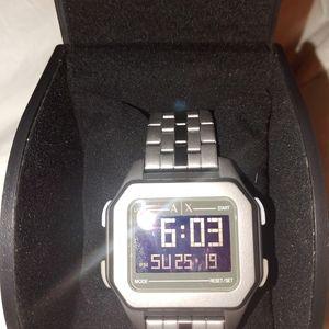 Mens Armani Exchange Digital Watch